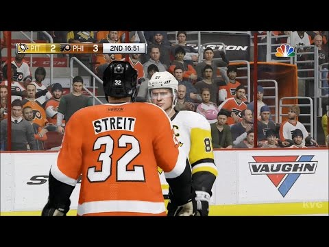 NHL 17 - Pittsburgh Penguins vs Philadelphia Flyers | Gameplay (HD) [1080p60FPS]