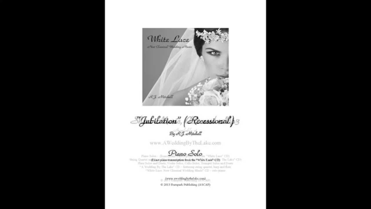 Wedding Recessional Songs Piano: Jubilation (Recessional)