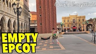 Hurricane Dorian at Walt Disney World - The Emptiest Day Ever at the Parks