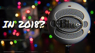 Why buy a BLUE SNOWBALL in 2018?