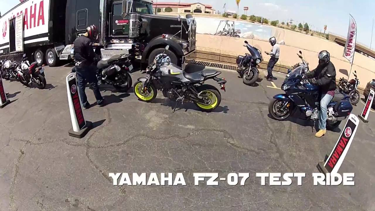 Yamaha demo day pt 1 fz 07 review comparing to the for Yamaha demo days