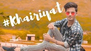 Khairiyat cover song Pawan Jangid   Sushant Singh Rajput   Arijit Singh   Chhichhore   Shradhha