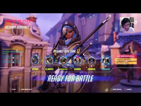 Overwatch PS4 Competitive | Communication is Key