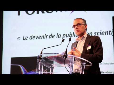 Forum du GFII 2013 - Le devenir de la publication scientifique