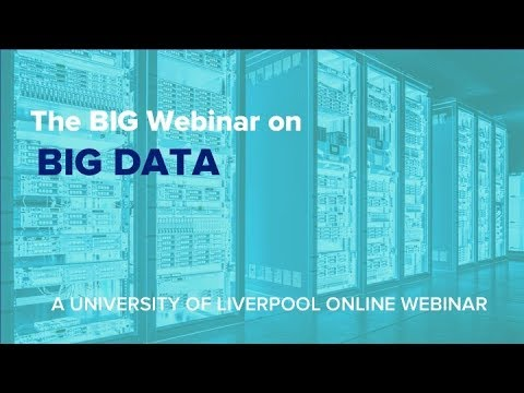 Webinar: The BIG Webinar on BIG DATA