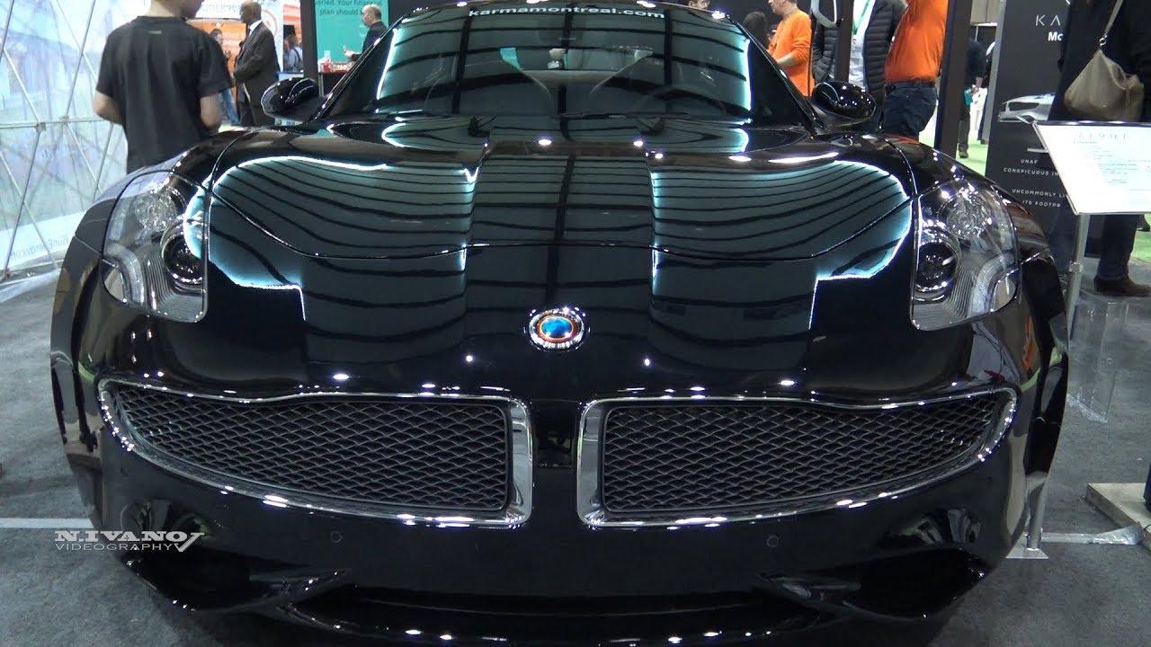 2018 Karma Revero Hybrid - Exterior And Interior Walkaround - 2018 Montreal EV Show
