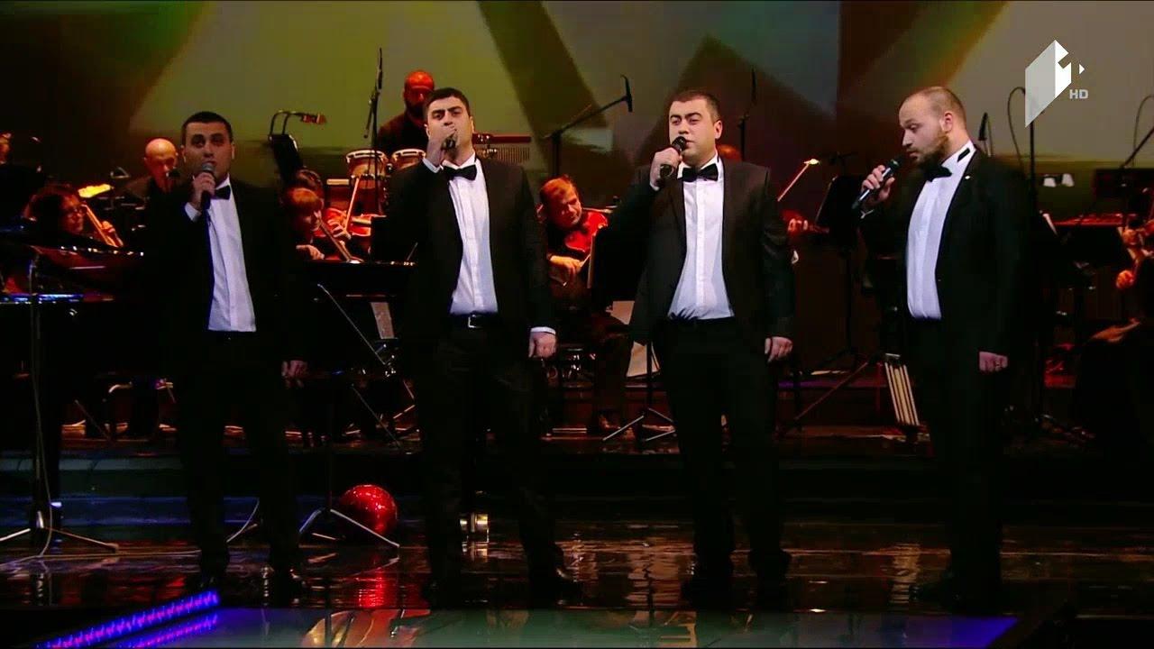 გოგი ცაბაძის სიმღერების პოპური  თბილისური კვარტეტი  Cabadzis popuri  Tbilisuri Kvarteti
