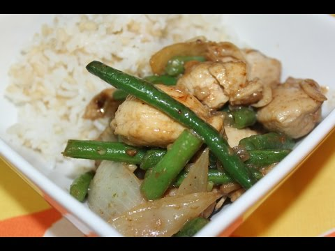 Garlic Chicken Breast With String Beans (Panda Express)