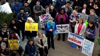 College students protest Trump presidency across campuses