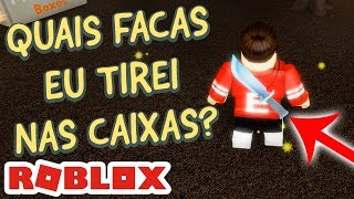 ABRI CAIXAS DE FACAS - THE CLOWN KILLINGS REBORN no ROBLOX