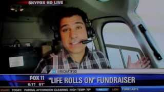 """life Rolls On"" Charity Event At Killer Shrimp - Fox 11 News With Rick Dickert"