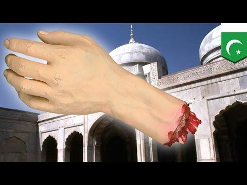 「神を冒とくした!」 自ら手を切断したパキスタンの少年