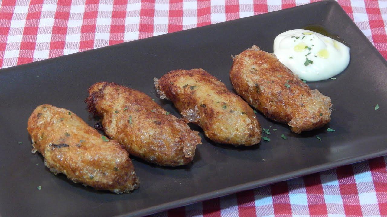 Cocinar Albondigas Caseras | Receta Facil De Croquetas De Bacalao Caseras Youtube
