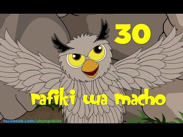 Ubongo Kids Webisode 30 - Rafiki wa Macho - Mwanga