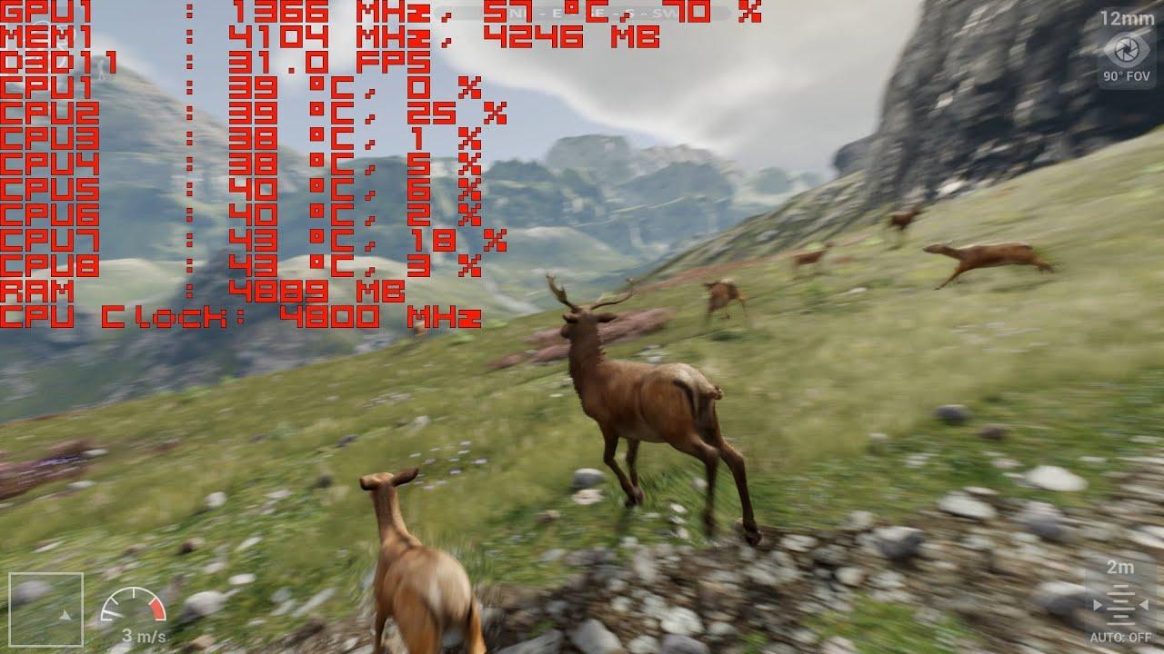 GTX 980Ti Performance Test - Unreal Engine 4 [4 8] Kite Demo 1080p +  Download link
