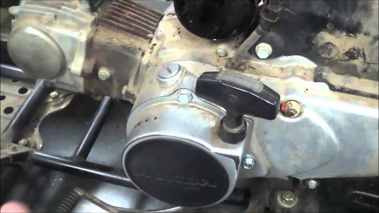 medium resolution of no spark honda trx 70 ran with carburetor in a can