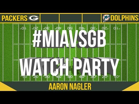 CHTV Packers Watch Party: Dolphins Vs Packers
