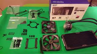 Kraken X62 Review and Install after unboxing in a NZXT H440 Case pds