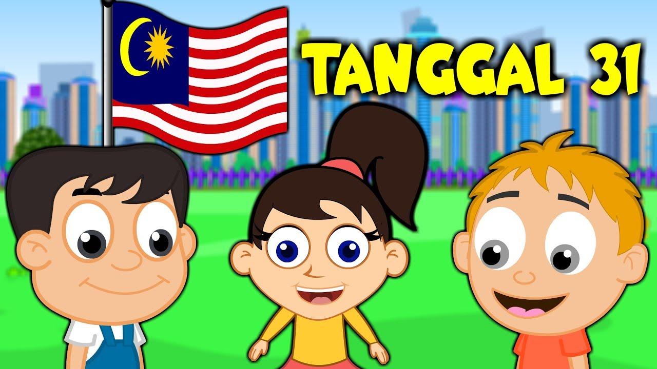 Download Lagu Merdeka - TANGGAL 31 - Malaysia National Day Song | Lagu Kanak Kanak
