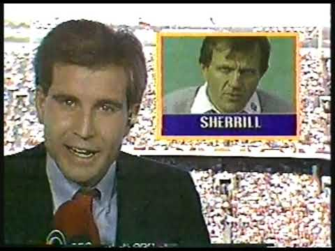 NCAAF - 1986 - CBSs Jim Nantz Reports On Alabama Coach Ray Perkins Departure At The End Of Season
