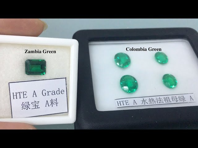 Lab Created Emerald Green Gemstones China Suppliers and wholesale