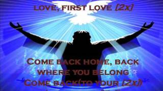 Kirk Franklin - First Love with lyrics
