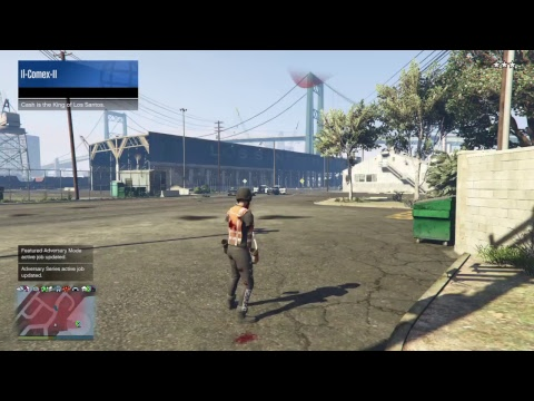 Il-Comex-II's Live PS4 Broadcast playing gta online part 14 with monkey fuck