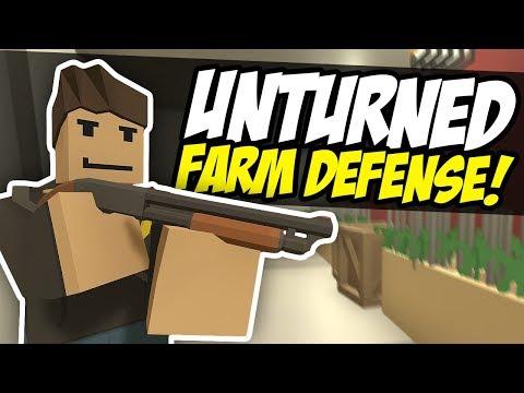 BERRY FARM DEFENSE - Unturned Dealers RP | SWAT Inbound!