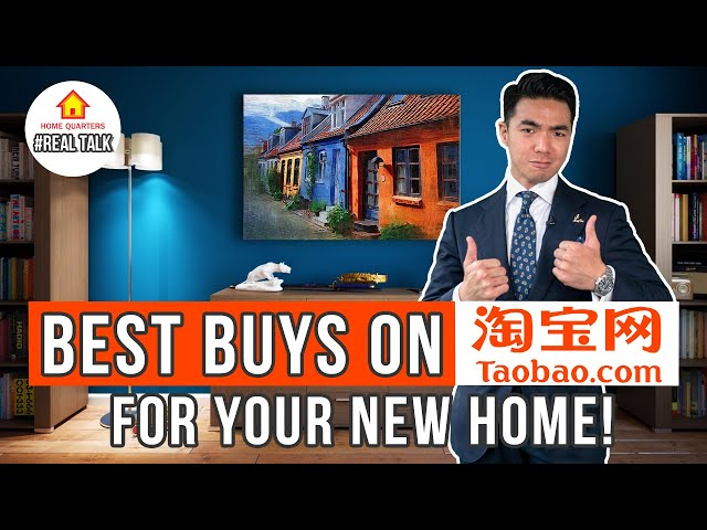 Taobao Best Buys For Your New Home!  Real Talk Ep 36