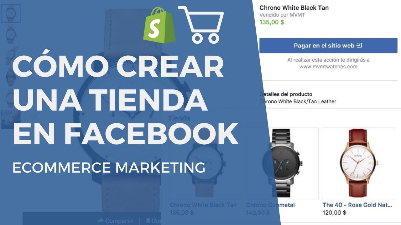 31a6c14b41 Cómo Crear una Tienda en Facebook