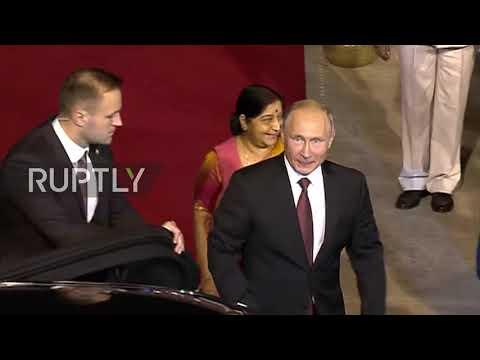 India: Putin lands in New Delhi ahead of 19th India-Russia summit