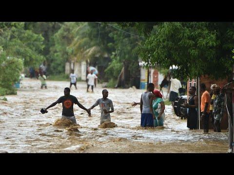 HAÏTI - Reportage à Port-au-Prince dévasté par l'ouragan Matthew