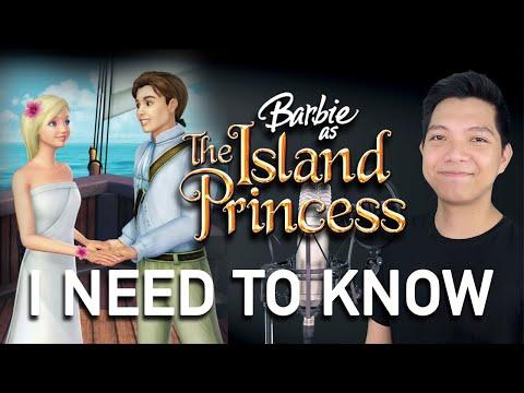 I Need To Know (Prince Antonio Part Only - Karaoke) - Barbie as The Island Princess