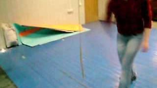 Рубка каната(Один свободновисящий пеньковый 10мм диаметр канат., 2009-04-21T20:35:04.000Z)