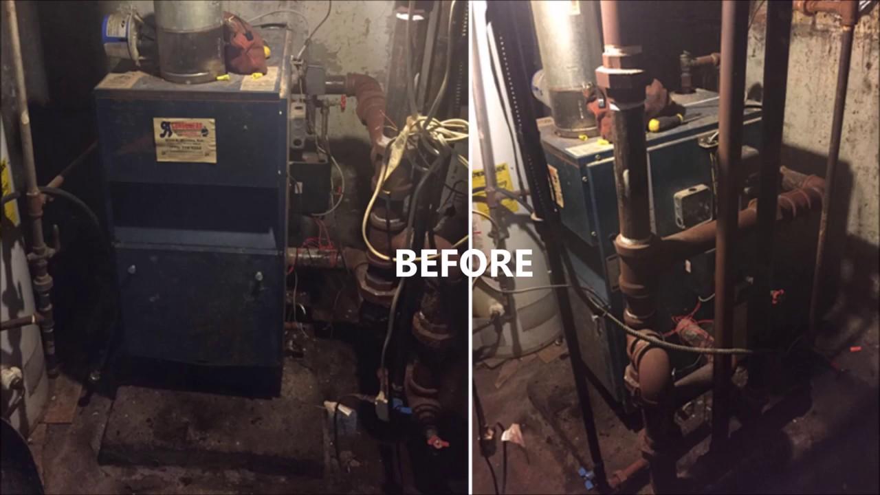 dunkirk psb 5d steam boiler installation - chatham comfort controls hvac