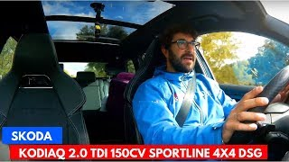 Prueba Skoda Kodiaq Sportline 2.0 tdi 150cv DSG | Review | Español | CAR and GAS