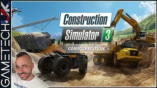 Construction Simulator 3 - Previewing the PS4 version