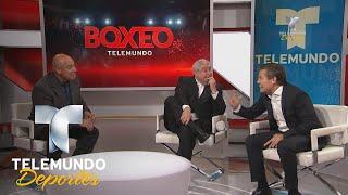 Chvez Hubo rivales a los que quise arrancarles la cabeza  Boxeo Telemundo  Telemundo Deportes