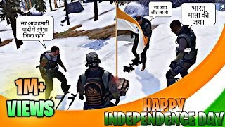 Pubg Mobile Tribute To The Indian Army💪 || 15 August || Pubg Short Film
