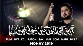 Nohay 2019 | Tum Bin Kai Raaton Se Main Soye Nahi Baba | Syed Raza Abbas Zaidi | Bibi Sakina Noha