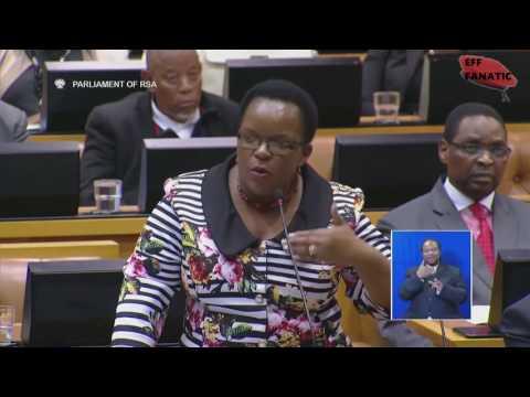 EFF vs Minister Nomvula Mokonyane