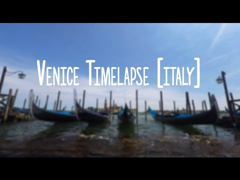 GoPro 4K: The Beautiful Venice Timelapse [Italy]