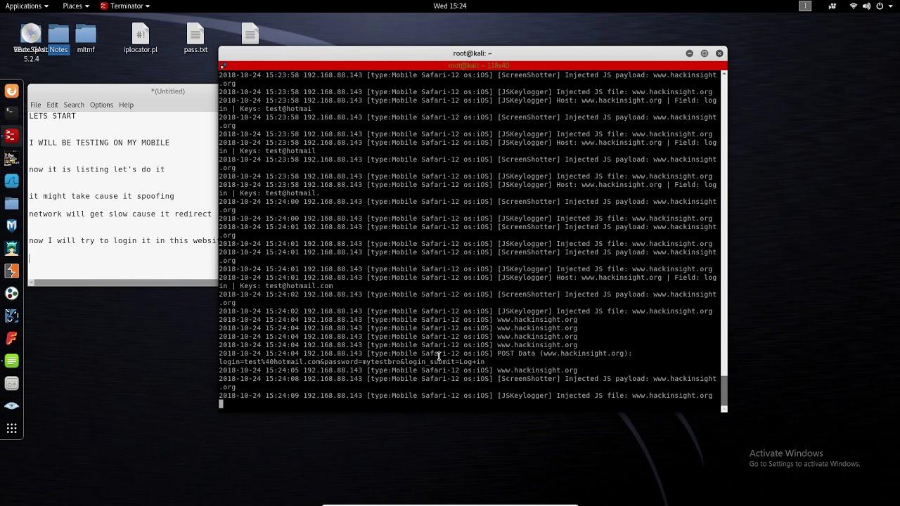 network spoofer for windows