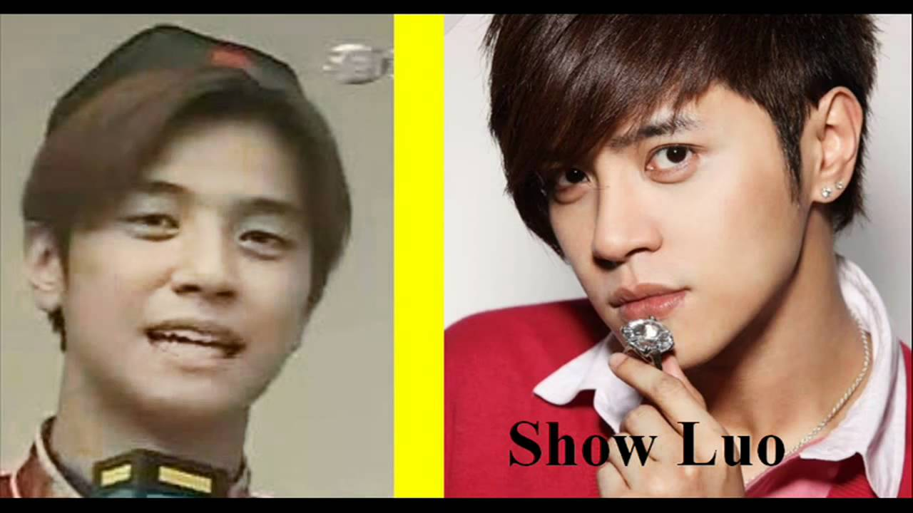 taiwan star show luo before after plastic surgery - youtube