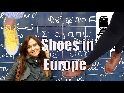 What Shoes to Take to Europe - 5 Rules for the Right Shoes