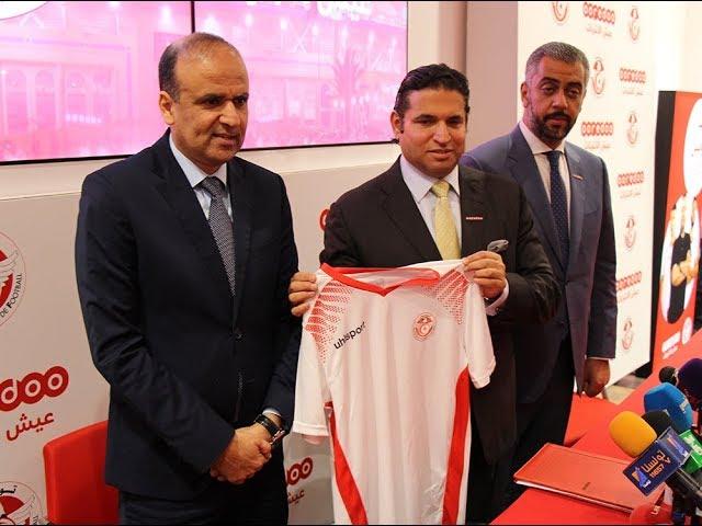 Ooredoo sponsor officiel de l'équipe nationale de football