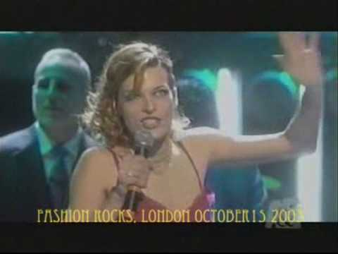 MIlla JOVOVICH - LEFT AND RIGHT fashion Rock 2003 04