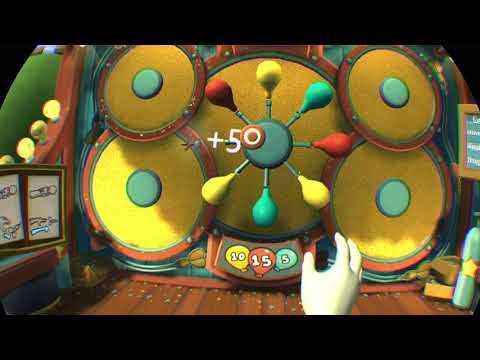 Carnival Games VR game play demo |