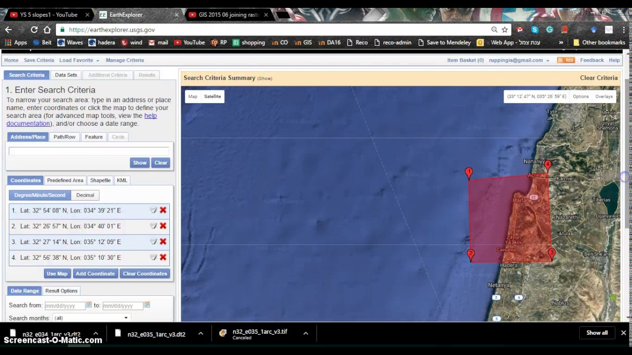 Download SRTM DEM From Usgs YouTube - Download dem data usgs