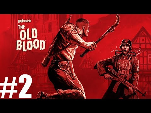 🔴#323 LIVE  🌛 Wolfenstein: The Old Blood - Lecimy dalej über